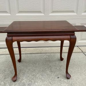Photo of End Table with Lamp Stands