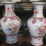 Two Chelsea House Vases