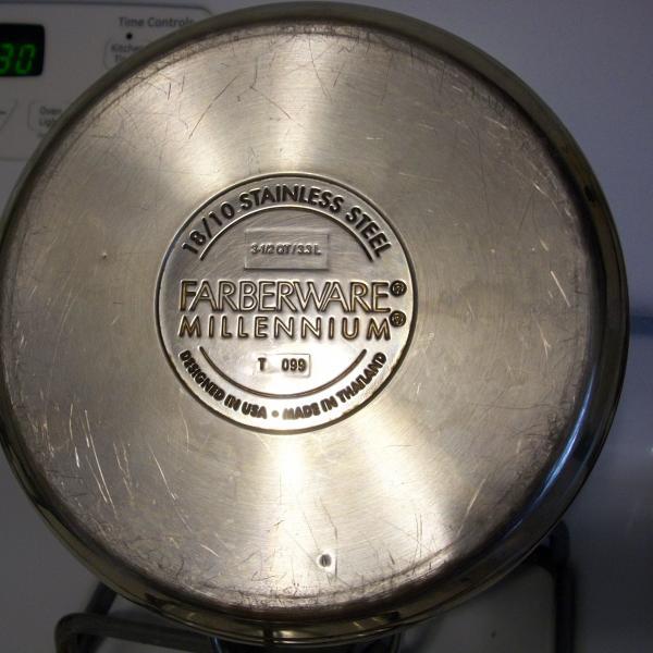 Photo of Faberware Stainless Steel 3 1/2 Quart Sauce Pot