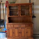 FREE - Vintage 1950s Hutch - Great for Refurbishing or Repurposing