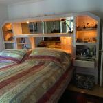 King size headboard & corner armoire