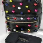 Juicy Couture Black Label Leather Backpack