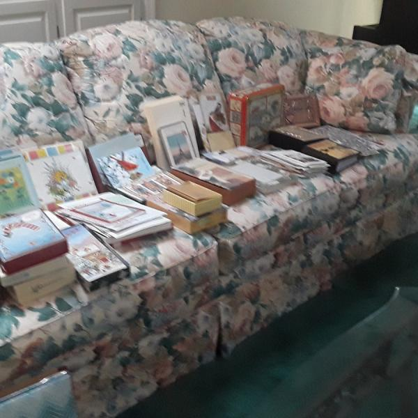 Photo of Broyhill Couch with pull out bed and Sofa