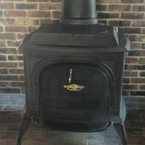 Photo of wood stove