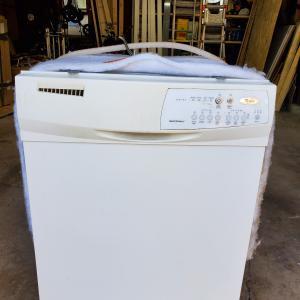 Photo of Whirlpool dishwasher
