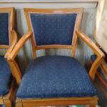 6 Oak Dinner room chairs