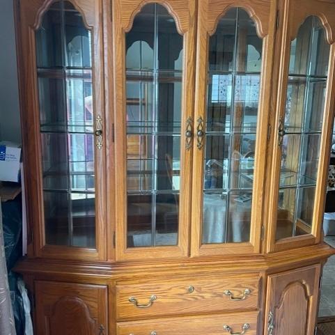 Photo of Oak Dining room set