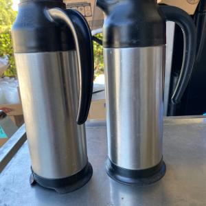 Photo of 2 Creamer containers
