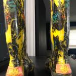 Ed Hardy Designer rain boots