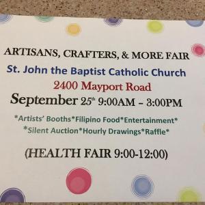 Photo of St. John's Church Craft/Health Fair