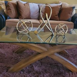 Photo of 3 Piece coffee table set