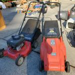 Gas Lawnmower (the one on the left)