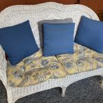 Wicker couches