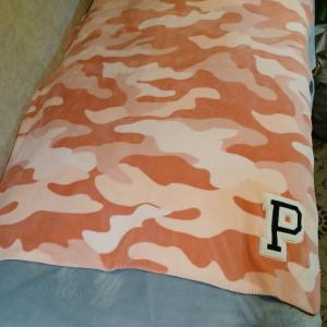 Photo of Victoria secret pink blanket