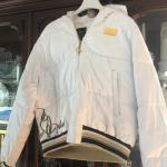White Baby  Phat  women's coat