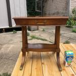 R.J Arnold corp antique table