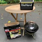 Lot 45:  Die Hard Cooler, Wooden Table & More