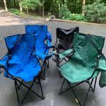 Lot 40:  Folding Chairs