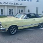 1967 Ford Fairlane Convertible - 500 XL in Springtime Yellow