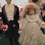 Gibson bride and groom