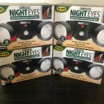 Lights- dual motion activated security lights