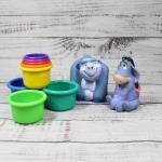 Kids Toddler Plastic Toys Stackers Eeyore Gorilla
