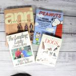 Mixed Lot of Books Anri Peanuts Dogs Betty White
