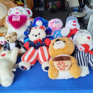 Photo of Stuffed animals and things