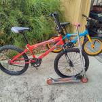 kids bikes and Razor
