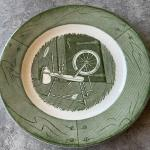 Vintage replacement plate