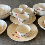 Vintage replacement dishes