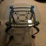 Metal/Glass End Tables