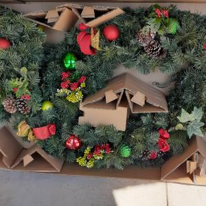 Photo of Christmas outdoor wreath