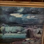 Glacee print by G. Inness