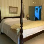 King Size Mahogany Four Poster Rice Bed