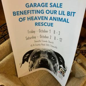 Photo of Indoor Sale Benefiting Animal Shelter