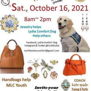 Photo of Jewelry and Handbags Fundraiser for Lydia Comfort Dog