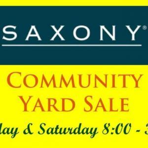 Photo of Saxony Neighborhood Fall Sale