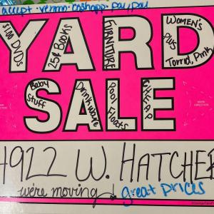 Photo of Yard Sale -- We are MOVING! Everything must go!
