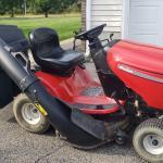 Poulan Ride lawn mower