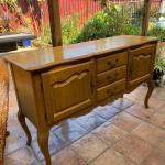 Ethan Allen Buffay table