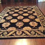 Area rug and runners