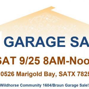 Photo of $1 Garage Sale!