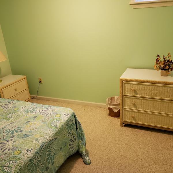 Photo of Wicker bedroom set complete