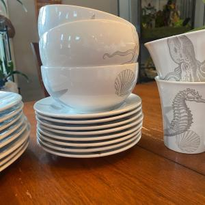Photo of Sealife dish set with cannisters