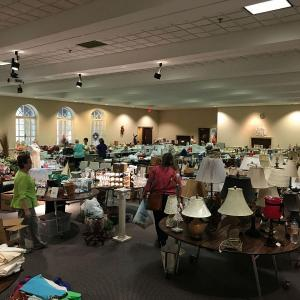 Photo of Market for Mission at First Pres Concord