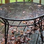Vintage Wrought Iron Table