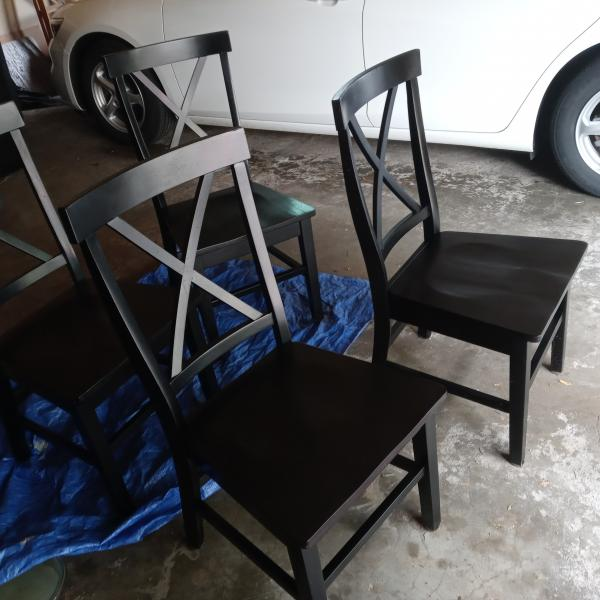 Photo of Solid Wood Chairs
