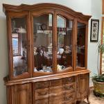 Gorgeous Glass Front Storage Cabinet