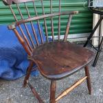 S. Bent & Bros Inc Gardner Mass 1867 Windsor Chair